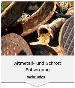 Altmetall- und Schrott Entsorgung