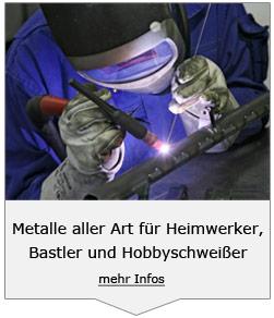 Metalle für Heimwerker und Bastler
